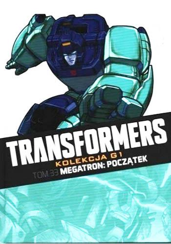 Transformers kolekcja g1 tom 33 okładka