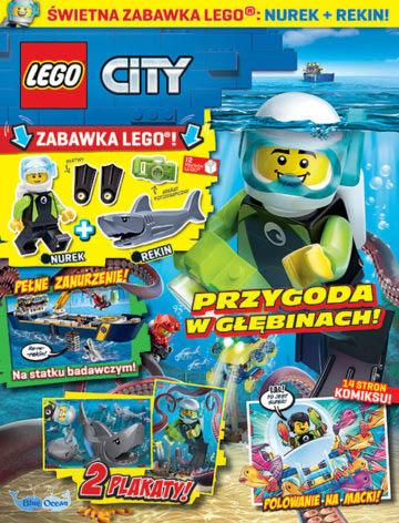 Magazyn Lego City 7/2020 okładka