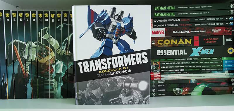 Transformers kolekcja G1 tom 34