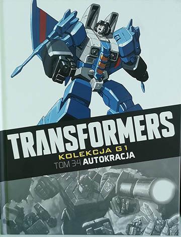 Transformers kolekcja g1 tom 34 autokreacja