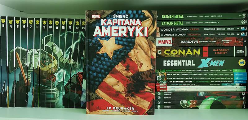 Śmierć Kapitana Ameryki recenzja