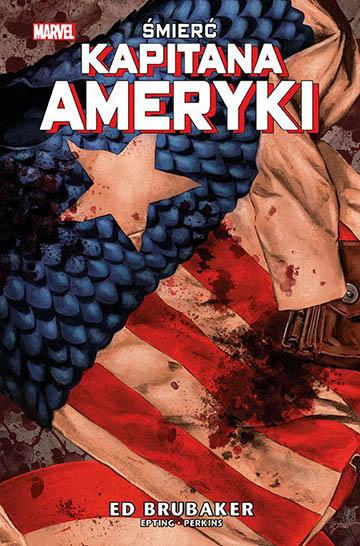 Śmierć Kapitana Ameryki okładka