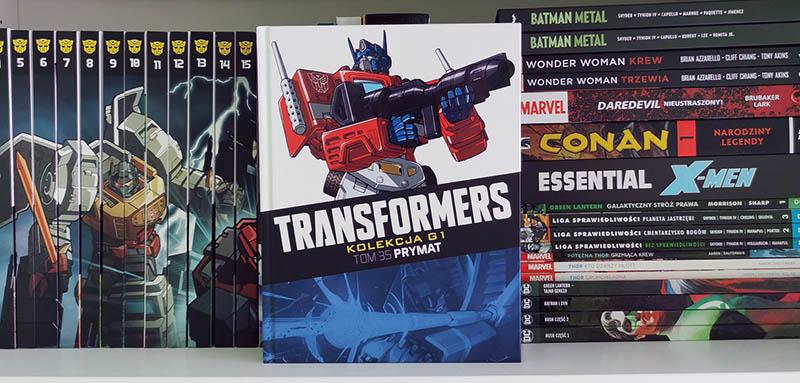 Transformers kolekcja g1 tom 35