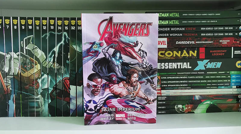 avengers tom 5 tajen wojny recenzja