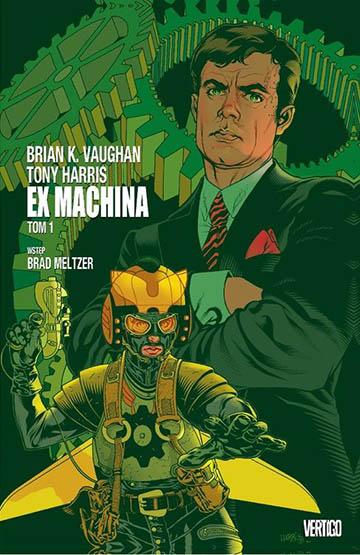 Ex Machina tom 1 okładka