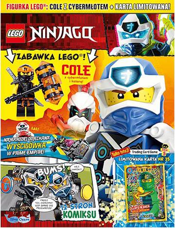 Magazyn Lego Ninjago 6/2020 okładka