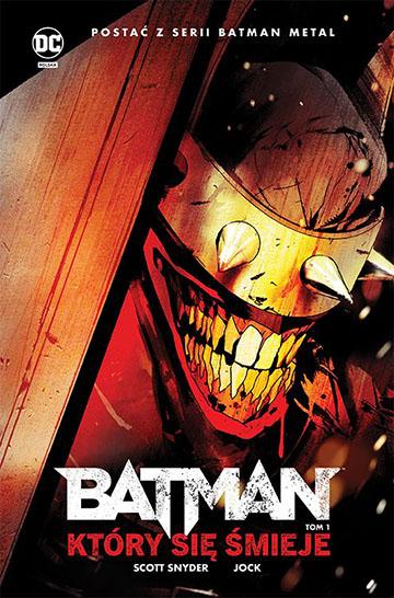 Batman, Który Się Śmieje tom 1 okładka