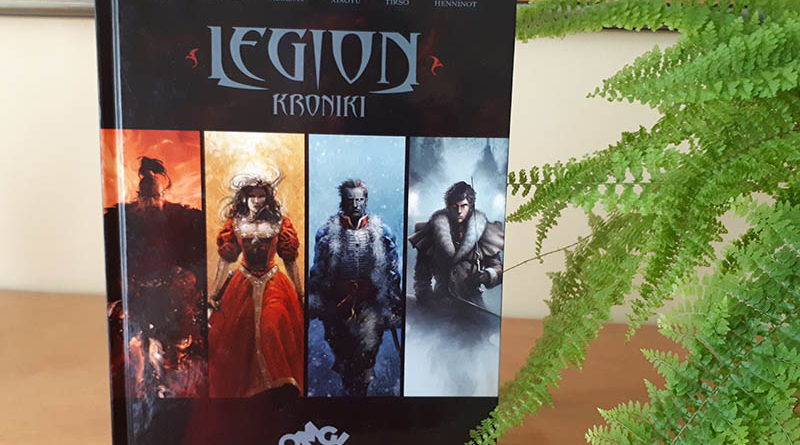 komiks Legion - Kroniki recenzja