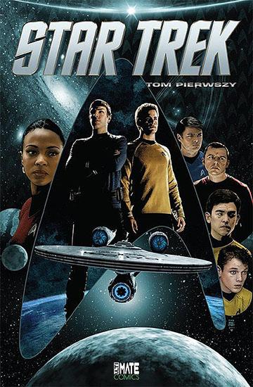 Star Trek tom 1 okładka