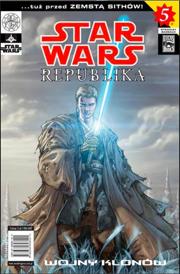 Star Wars: Republika okładka