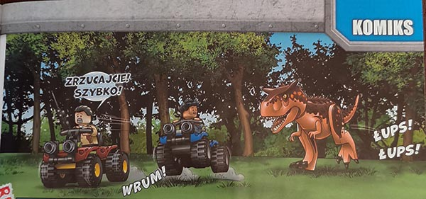 komiks Magazyn Lego Jurassic World 5/2020