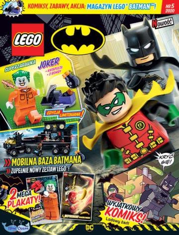 Magazyn Lego Batman 5/2020 okładka