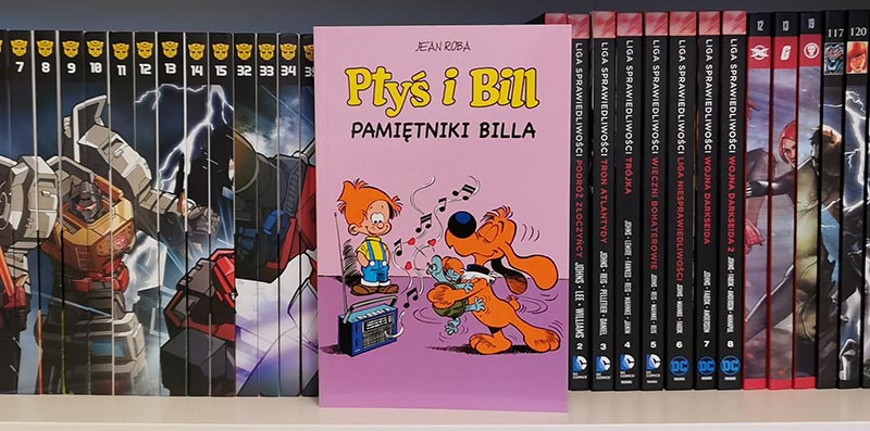 Ptyś i Bill tom 7 - Pamiętnik Billa