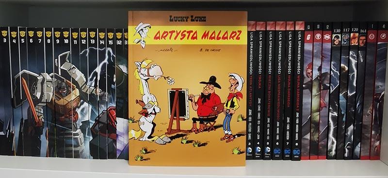 Lucky Luke tom 69 Artysta malarz recenzja