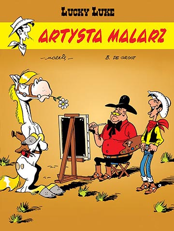 Artysta malarz okładka
