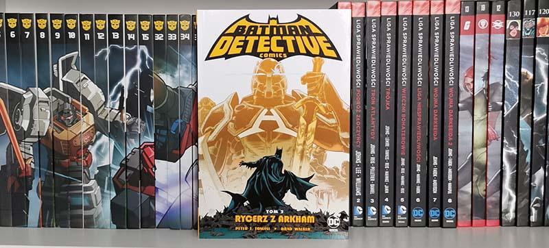 Batman Detective Comics tom 2 rycerz z arkham recenzja