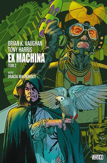 Ex Machina tom 2 okładka