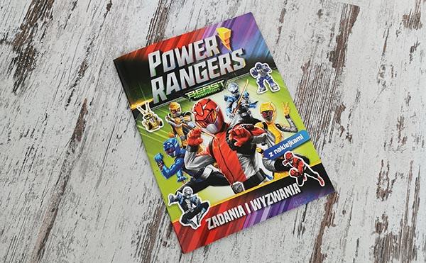 Power Rangers. Zadania i wyzwania