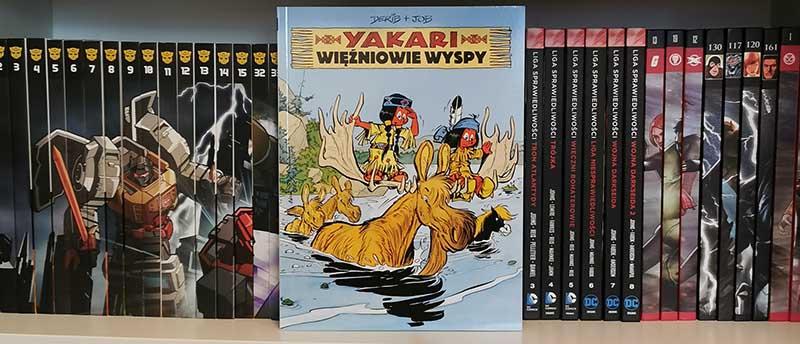 Yakari tom 9 - Więźniowie Wyspy recenzja