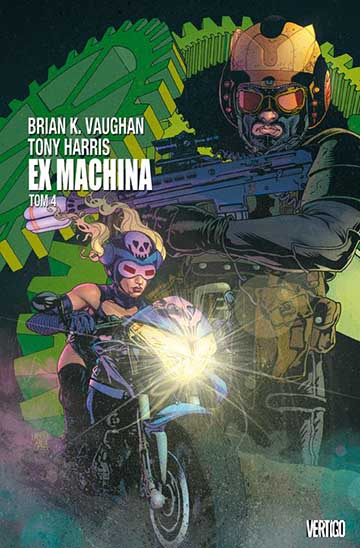 Ex Machina tom 4 okładka