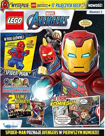 Magazyn Lego Avengers 1/2020 okładka