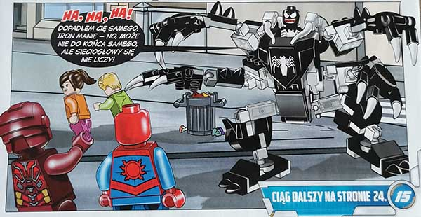Magazyn Lego Avengers 1/2020