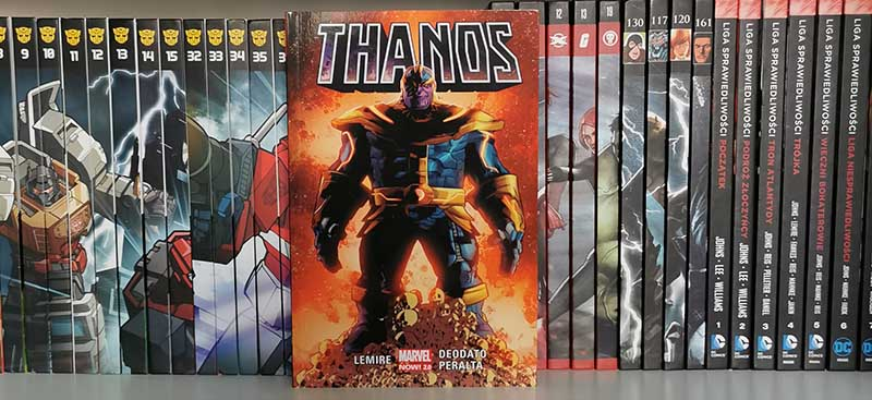 Thanos tom 1 recenzja