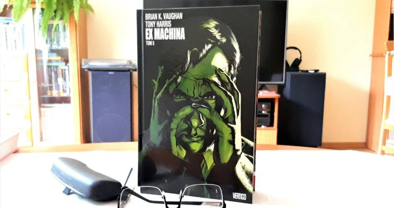 komiks Ex Machina tom 5