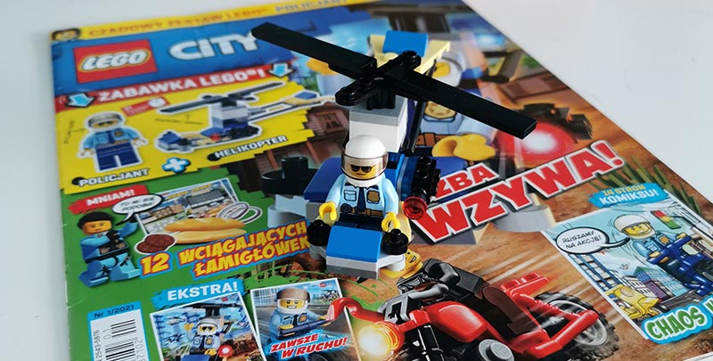 Magazyn Lego City 1/2021 recenzja
