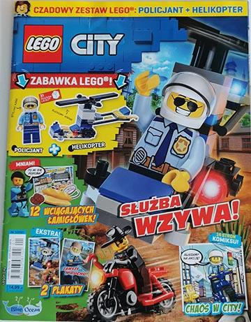 Magazyn Lego City 1/2021 okładka