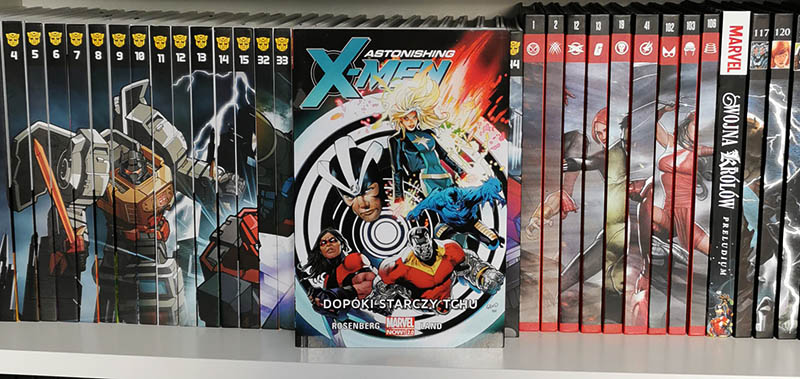 Astonishing X-Men tom 3 - Dopóki starczy tchu recenzja