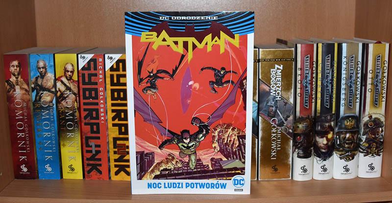 Batman: Noc Ludzi Potworów recenzja