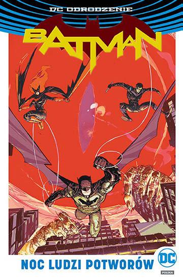 Batman: Noc Ludzi Potworów okładka
