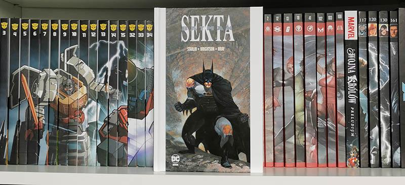 Komiks Batman Sekta recenzja