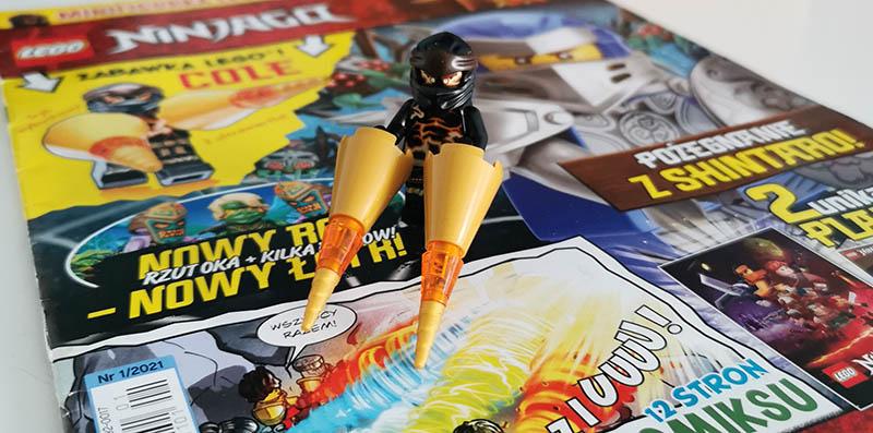 Magazyn Lego Ninjago 1/2021 recenzja