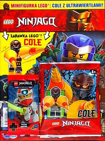 Magazyn Lego Ninjago 1/2021 okładka