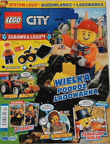 Magazyn Lego City 2/2021 okładka