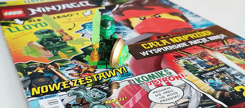 Magazyn Lego Ninjago 2/2021 recenzja