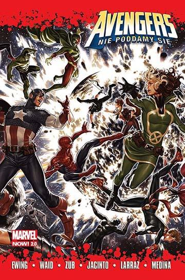 Avengers: Nie poddamy się okładka