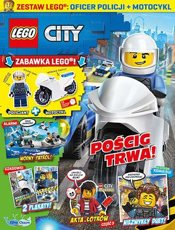 Magazyn Lego City 3/2021 okładka