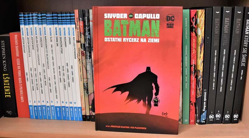 Batman - Ostatni Rycerz na Ziemi recenzja