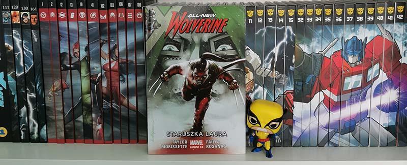 All-New Wolverine tom 6: Staruszka Laura recenzja