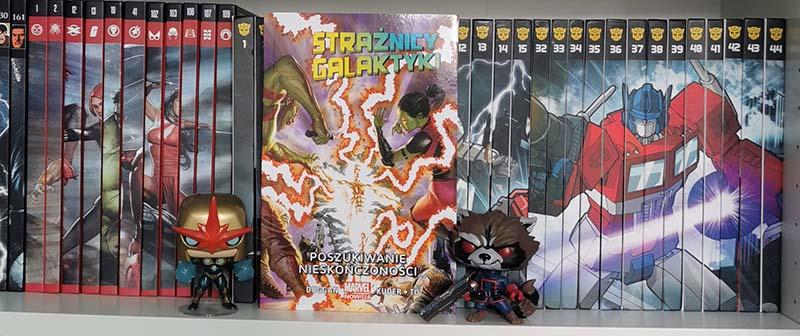Strażnicy Galaktyki tom 3 - Poszukiwanie nieskończoności recenzja