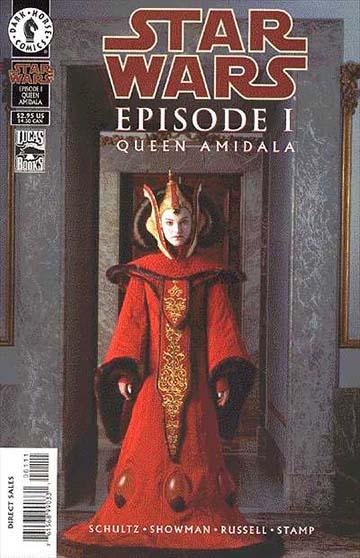 Gwiezdne Wojny Komiks - Królowa Amidala