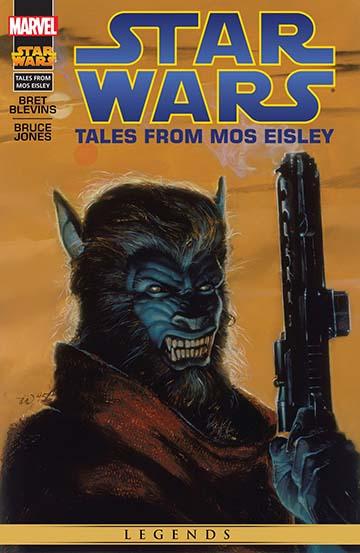 komiks opowieści z Mos Eisley