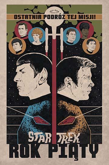 Star Trek - Rok piąty okładka