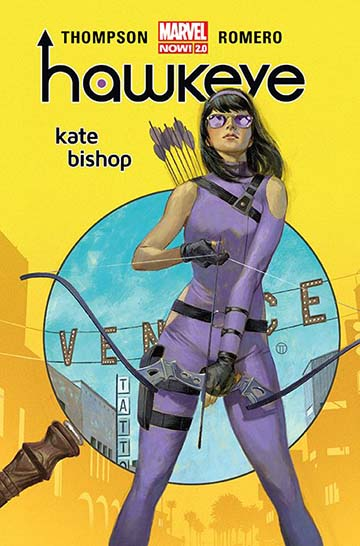 Hawkeye - Kate Bishop okładka