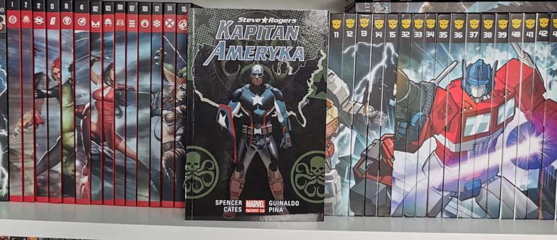 Kapitan Ameryka: Steve Rogers Tom 2 recenzja