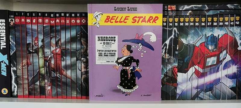 Lucky Luke tom 64: Belle Starr recenzja