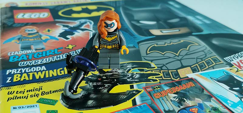 Magazyn Lego Batman 3/2021 recenzja